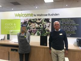 Thank you to Waitrose, Rushden Kind Donation