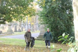 Thursday 7th November 2019 Litter pick at Undercliffe Cemetery
