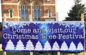 Christmas Tree Festival Upminster Methodist Church