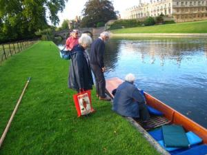 Sep 2011 Punting evening from Kings College