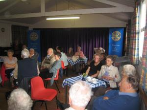 Nov 2011 Memory Cafe, Girton  WI Hall, High Street, Girton, CB3 0PU