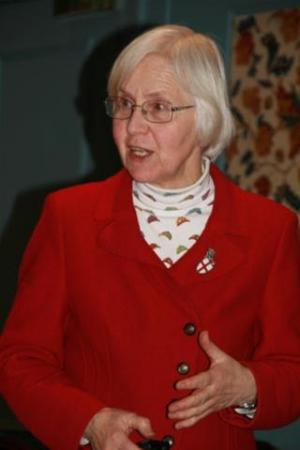 Speaker - Chloe Cockerill MBE, MA, – The Churches Conservation Trust - St George.