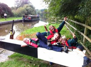 2014 Barge Trips for Newbury Community Groups