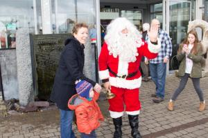 Santa Comes to Houghton Hall
