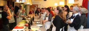 Charity cookery night to the benefit of the CRC