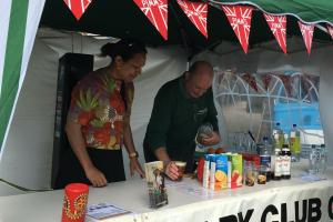 Pimms Stall at the Sunday Market