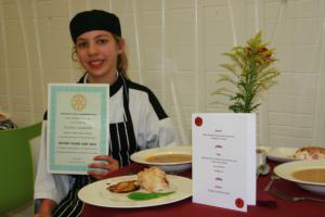 Nov 2013 Rotary Young Chef  - first heat 2013 - 2014
