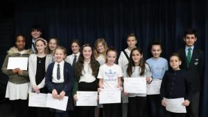 Young Writer Presentation Evening