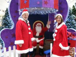 Rotary brings Santa to Burton