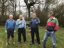 Meridian Rotary Working with Friends of Weirwood Reservoir