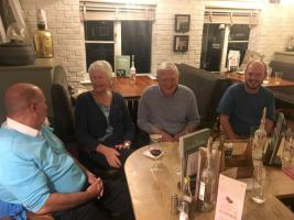 Great meet up at the Cricketers on Friday