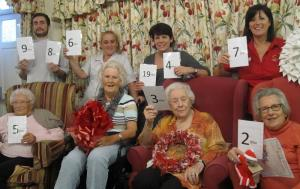 Avon Reach Care Home residents help out Children In Need Auction