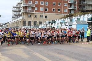 East Cliff Easter Quarter Marathon 2018 Photographs