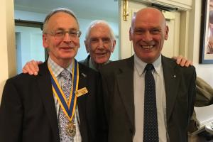 Meet David Griggs New Member of Oswestry Rotary Club