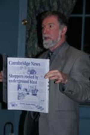 Speaker Chris Elliott Cambridge News - Your local newspaper - does it have a future?