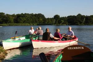 Boating Evening at Thorpeness
