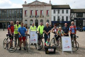 Beverley Rotary Club - Riding for Crisis Box - 22 June 2014