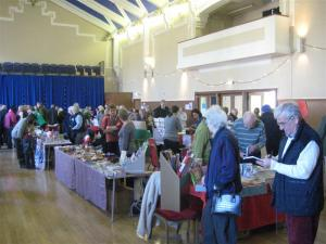 Christmas Card Sale 2011 in Town Hall
