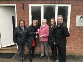 Donation to North Thoresby Clubs