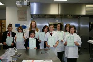 Young Chef Competition at Maidenhill School