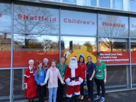 Christmas fun at Sheffield Children's Hospital!
