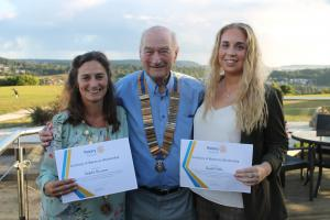 Welcoming Two New Honorary Members