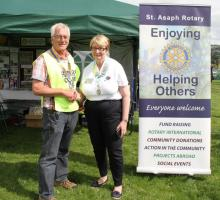 ​RECORD CROWDS FLOCK TO ST ASAPH ROTARY FAYRE