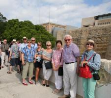 Rotarians go to Valletta with Norm's Dodgy Travels