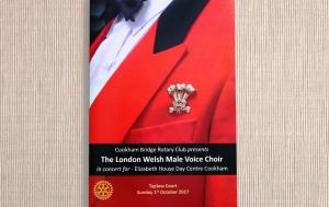 London Welsh Male Voice Choir at Taplow Court for Elizabeth House