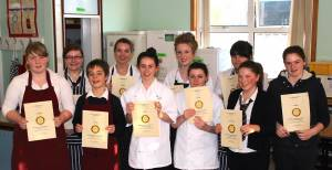 Rotary SW Area Finals Young Chef 2014