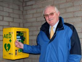Another Emergency Defibrillator for the Town