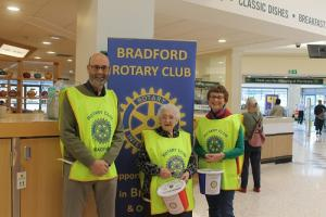 Collection at Asda Cemetery Road on the 23th November