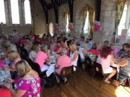 Breast cancer care afternoon tea