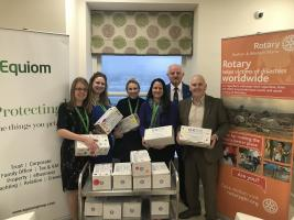 Rotary Shoebox Appeal 2018 gets support from Equiom, Isle of Man