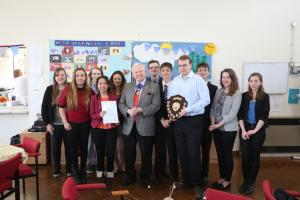 Princes Risborough School Rotary Interactors win major Rotary Award