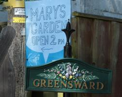 MARY'S GARDEN. SAM'S CHARITY OPEN DAY