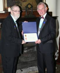 Our latest Paul Harris fellow