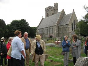 Vist to Fairlight Church