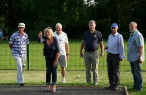 Boules Evening with Stonehouse Town Council
