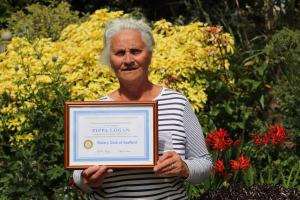Pippa Logan becomes Life Honorary member