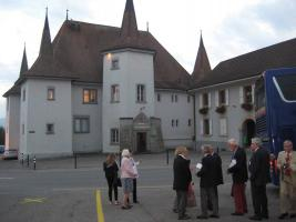Visit to Rotary Club of Payerne - La Broye in Switzerland