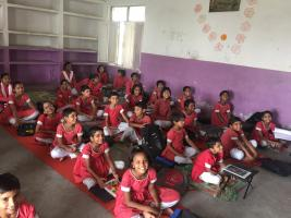 School for Abandoned Girls in India