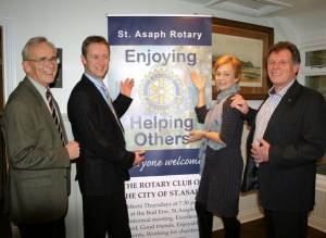 Rotary club opens its doors.