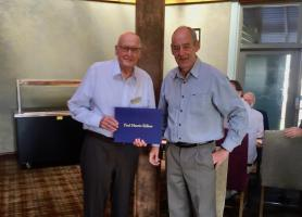 ​Rotary Becket Honours Long Standing Rotarian