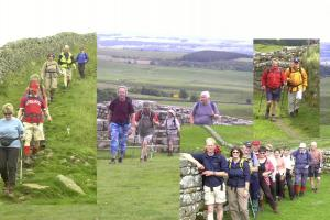 200407 Summer Walk Hadrian's Wall
