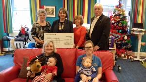 2018 Christmas Coffee Morning raises £2,000 for Rebecca House