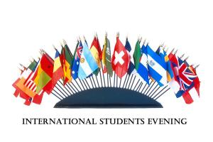 International Students Evening 6.00 for 6.30pm at The Wynnstay Hotel