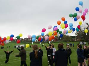 Interact Charity Balloon Release - Monday 7th May 2012
