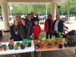 Interact Plant Sale