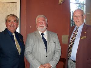 Mike Griffiths, Paul Galloway and John Neave